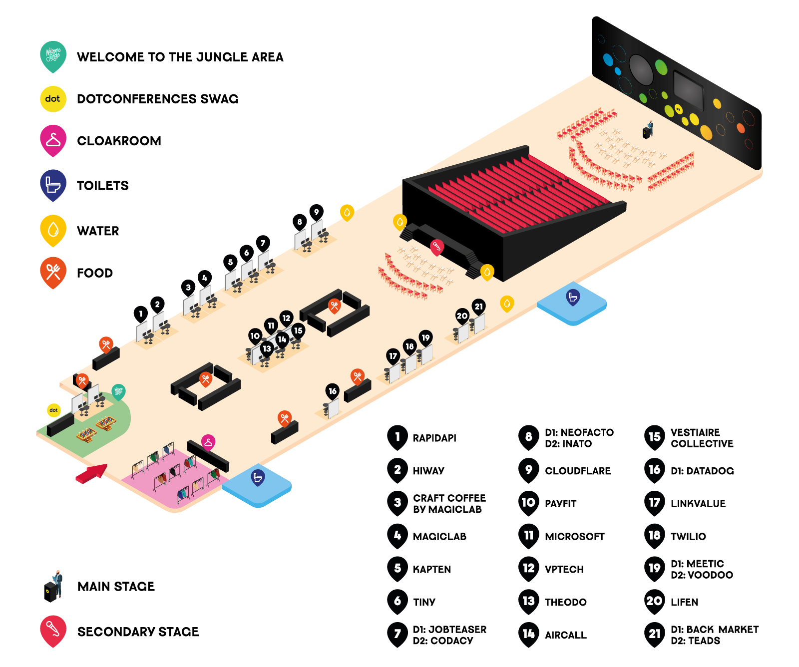 dotJS 2019 venue map